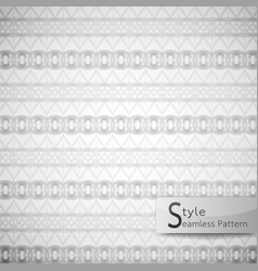 Abstract seamless pattern ribbon bow mesh white vector