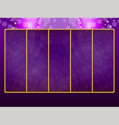 Background for slots game 2 vector image