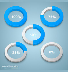 Load in a circle art vector