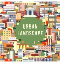 Urban landscape 1 vector