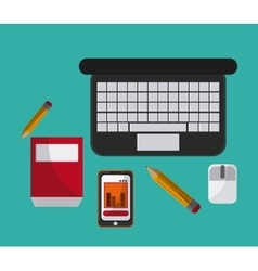 Office icons design vector