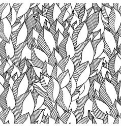 Decorative hand drawn doodle curl sketchy vector image vector image