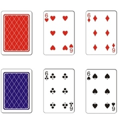 Playing card set 07 vector