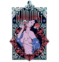 Sexy pin up girl vector