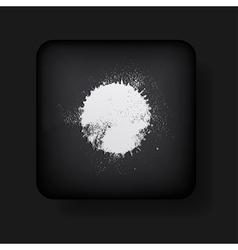 Splotch icon vector image