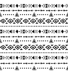 Tribal hand drawn background vector image vector image
