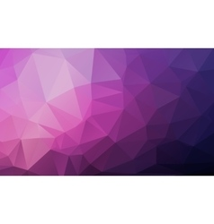 Geometrical polygon abstract purple vector image vector image