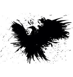 Paint eagle vector