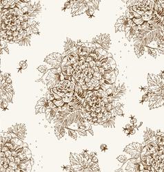Seamless vintage decorative ornament vector image