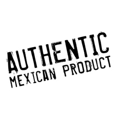 Authentic mexican product stamp vector image