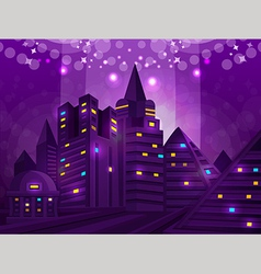 Background city vector