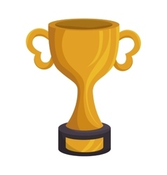 american football trophy award vector image