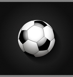 football background on black mesh vector image vector image
