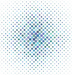 Light blue circle pattern background vector