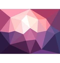 Low poly background abstract diamond vector