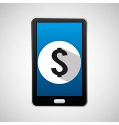 Social media mobile money bank digital vector