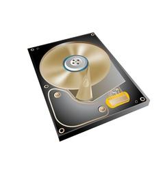 Hard drive vector