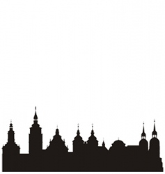 Historical city vector