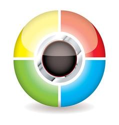 Modern icon concept vector