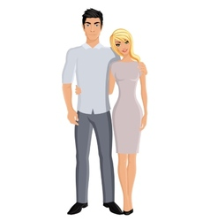 Husband and wife vector image