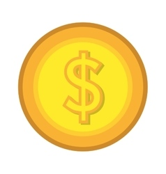 Money and business graphic design flat icon vector image