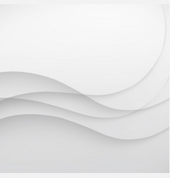 White elegant business background wave vector