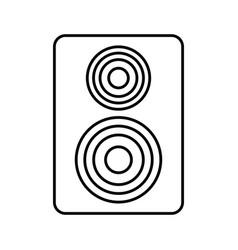 Sound speaker icon vector