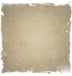 Grunge background with white border vector