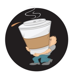 Coffee large vector