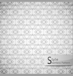 abstract seamless pattern ribbon bow lattice vector image vector image