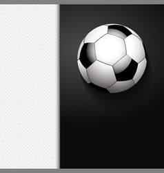 football border background on white vector image vector image