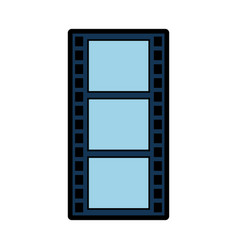 Photography tape isolated icon vector