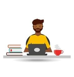 User online design vector
