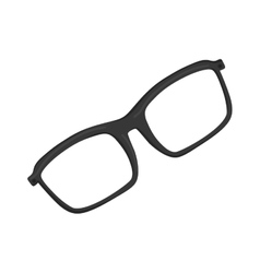 Isolated modern glasses vector