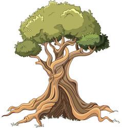 Majestic tree vector