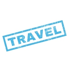Travel rubber stamp vector
