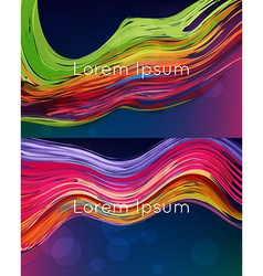 Bright abstract backgrounds vector