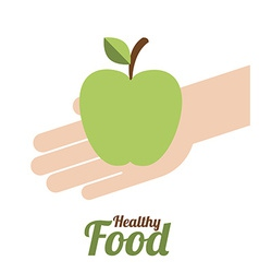 Healty Lifestyle design vector image