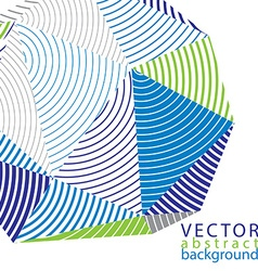 complicated 3d backdrop modern digital technology vector image