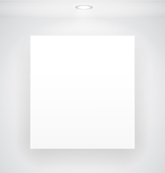 Blank Display vector image vector image