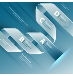 Web design template use for vector image