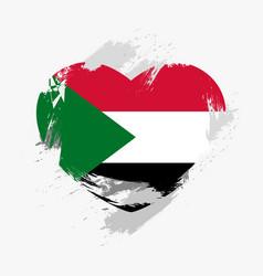 Flag of sudan vector