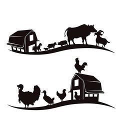Farm animal design vector