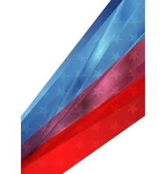 Independence day abstract usa colors background vector