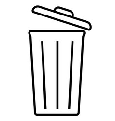 Bin delete empty out recycle remove vector