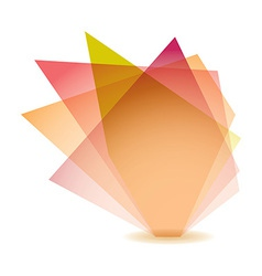 Pastel shard vector image