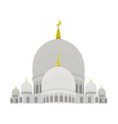 Sheikh zayed mosque vector