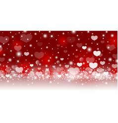 valentines day abstract background design vector image