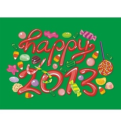 Happy 2013 vector image