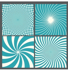 Retro vintage hypnotic background vector